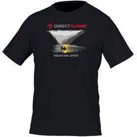 Directalpine Crack t-shirt Heren Mountain Spirit zwart